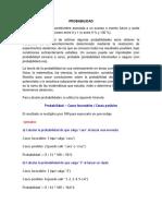 La Probabilidad Prof. Gabriel