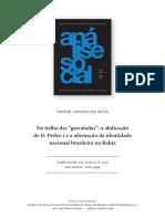 A Afirmação Da Identidade Nacional Brasileira Na Bahia