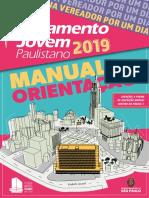 Parlamento Jovem Paulistano 2019