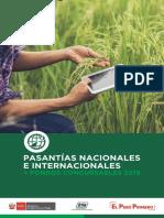 PNIA Brochure Pasantías 2019
