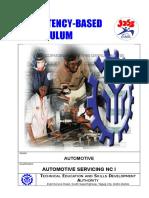 CBC - Automotive Servicing NC I