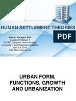 Human Settlement Theories