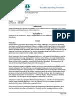 Lab Policies Quality Control of Refrigeration Units Lab 8750