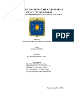 Estimación de Recursos y Reservas Minerales