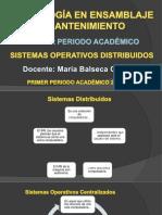 Clases s.o. Distribuidos III b V