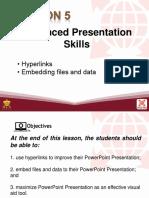 L5 Advanced Presentation Skills