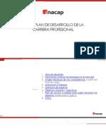 Pauta Informe Plan de Desarrollo de Carrera