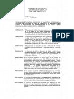 Orden_284_del_Departamento_de_Salud. Sobre Uso de Prendas y Uñas Artificiales