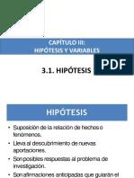 tesis hipotesis