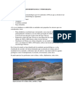 Geomorfologia y Fisiografia
