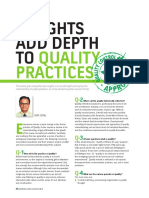 Insights Add Depth to Quality Practices