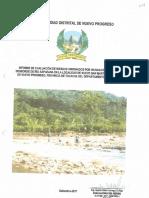 3887 Informe de Evaluacion de Riesgos Originados Por Inundacion Fluvial Por Desborde de Rio Aspuzana en La Localidad de Nuevo San Martin Nuevo Progreso Tocache San Martin