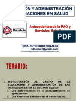 2a Sesión PyAOS Antecedentes dee AOS y Servicios Esbeltos en Salud