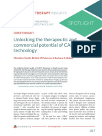 Unlocking the Therapeutic and Commercial Potential of CAR T Technology