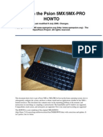 Psion 5mx How to Linux