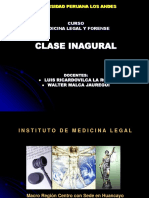 Clase Inaugural