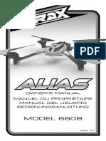 Latrax Drone-Alias-Owners-Manual