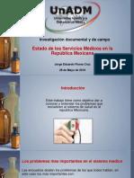 Presentacion - Estado de Los Servicios Médicos en La República