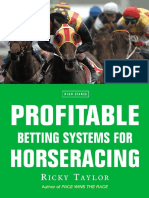Epdf.tips Profitable Betting Systems for Horseracing