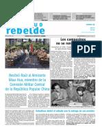 Juventud Rebelde. viernes 17 de mayo. 2019.