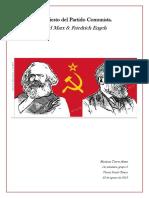 Manifiesto Del Partido Comunista.