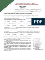Examen 2do Parcial Trimestre 3 Biologia 2019