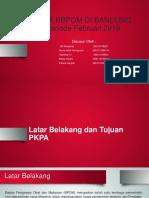 Presentasi Laporan Akhir PKPA BBPOM di Bandung