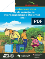 Guía de Manejo de Microorganismos Eficientes