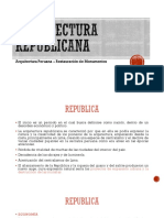 Arquitectura republicana-peruana