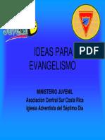6.1 Ideas Para Evangelismo