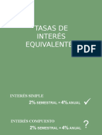 TASAS-EQUIVALENTES