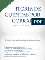 Auditoria de Cuentas Por Cobrar Farmacias, Guadalupe