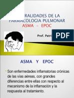 generalidades farmacologia pulmonar