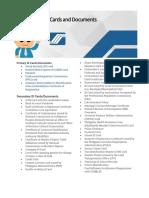 ID Documents List