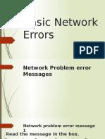 Basic Network Errors.pptx
