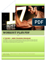 17 INCHES Workout Plan by Guru Mann