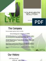 LYFE COMPANY PROFILE