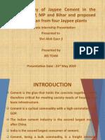 Jaypee Cement Presentation.pptx