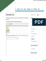 Excel Drop-down List - Easy Excel Tutorial