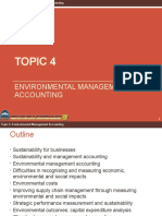 Topic 4 - Environmental Cost Management