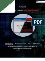Panduan Penanganan Insiden Web Defacement