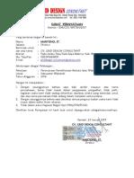 Surat Pernyataan Wabuebue
