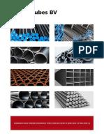 01.Seamless Cold Drawn Hydraulic Steel Tube en 10305-4