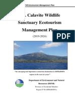 MCWS Ecotourism Management Plan, Final_LAC_26Dec2018 (Edited)