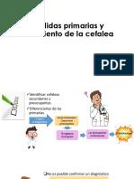 Medidas Primarias y Tratamiento de La Cefalea
