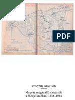 Ungváry Krisztián - A Magyar Megszálló c Sapatok a Szovjetúnióban 1941-1944