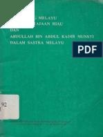 Buku Pengarang Melayu Dalam Kerajaan Riau dan Abdullah Bin Abdul Kadir Munsyi Dalam Sastra Melayu (1981).pdf