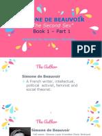 Simone de Beauvoir Ppt