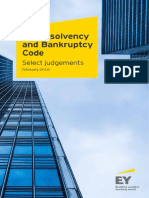 Ey the Insolvency and Bankruptcy Code