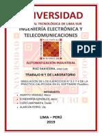 Laboratorio 1 M.agapito, J.echevarría, D.curo
